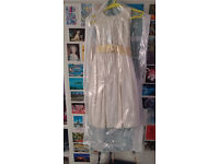 Ivory & Gold Child's Bridesmaid Dress- BHS Age 11