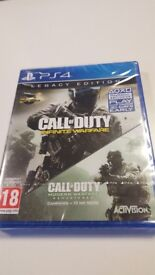 PS4 Call Of Duty Infinite Warfare Legacy Edition with MWR DLC Brand New Sealed