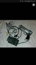 PS1 gun and pedal