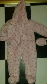 Girls snowsuit