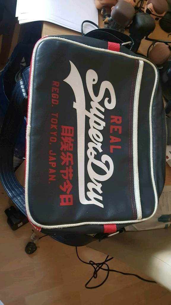 Authentic Superdry bag