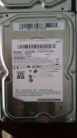 Samsung Spinpoint 5 x 2TB hard drives (Total 10TB)
