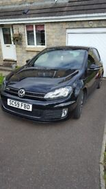 VW Golf GTD 2010 - Black