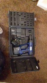 Blue 18v Drill