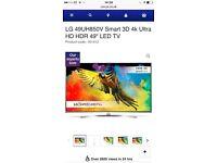 """LED 49UH850V SMART 3D 4K ULTRA HD HDR 49"""" LED TV"""