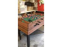 table football..air hockey..pool...