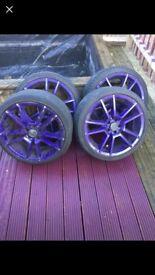Alloy wheels 5x100