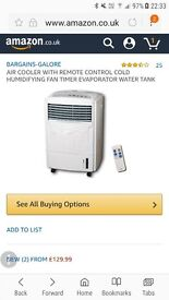 Air cooler with control
