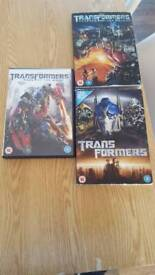 Transformers dvd's