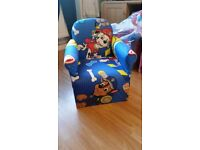 Kids character arm chairs