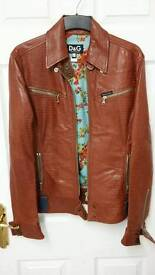 Dolce & Gabanna leather jacket