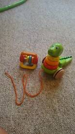 Wooden baby's toys