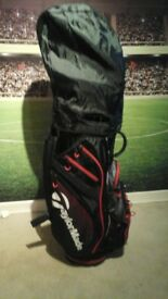 TAYLORMADE BURNER CLUBS AND BAG