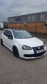 Volkswagen Golf R32, 3.2 v6 4motion, PADDLE SHIFT, 4WD, 2008, 96k, SAT-NAV, COILOVERS, NEW GEARBOX!
