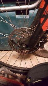 Cube hard tail 29er mountain bike
