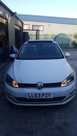 2013 VW GOLF GTD GTI GT R32 DSG 1.4 TSI UNRECORDED SALVAGE DAMAGED CAT D NOT POLO AUDI A3 A4 S LINE