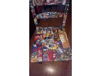 Comic book/graphic novel wooden chairs