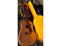 Guild G37-BLD - 1978 - Made in USA - Acoustic guitar - Natural Arched back - Gibson pick