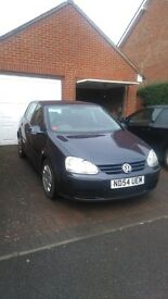VW Golf 1.9 TDI 2004. Great car, long MOT and low miles for its age.