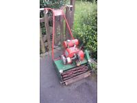 Old Villiers/Greens lawnmower (1960s?)- spares or repair. Would be good for a cricket club.