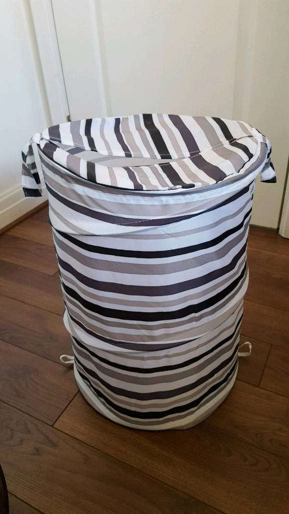 Portable laundry basket hardly used and in good condition.