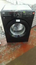 BLACK BEKO 7KG 1400 SPIN WASHING MACHINE NEW MODEL