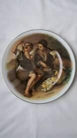 "Plate Sovereign China ""The Beggar Boys Bone China"