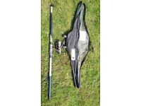 B Squere multi x 420 fishing set never used!can deliver or post