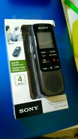 Sony Digital Dictation Machine / Voice Recorder ICD-PX240