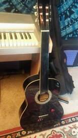 Fretless Classical Acoustic Guitar