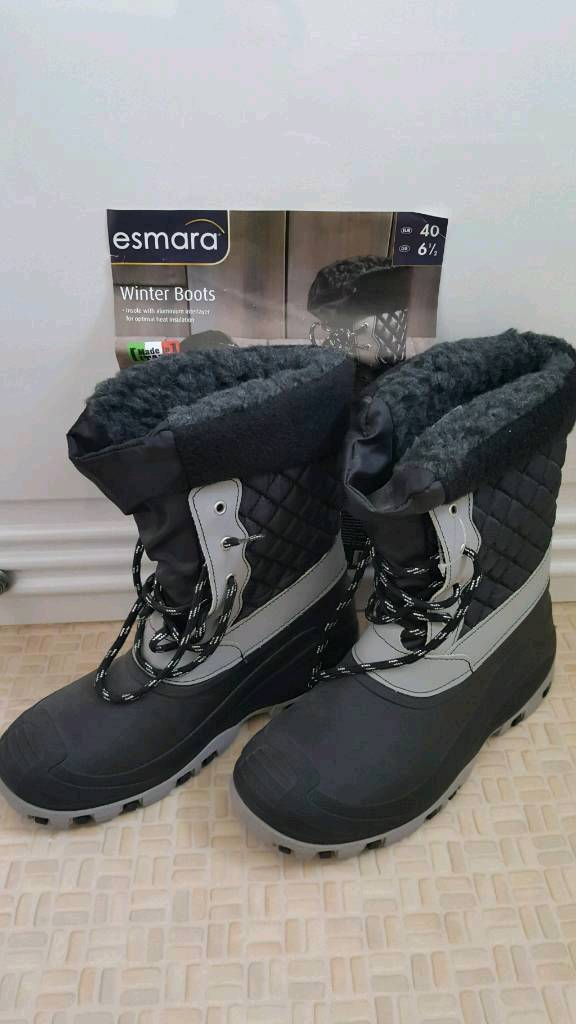 Brand New Ladies Winter Boots (6.5)