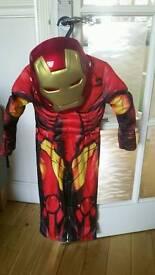 Superhero costumes size 3-4