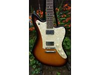 Hofner HE-179 electric guitar (Jaguar / Jazzmaster style). evaluation? prototype? VERY RARE.