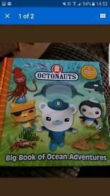 Octonauts book (like new)