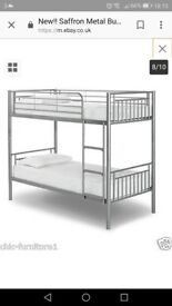 Bunk bed with matteresses 20cm used for very short time