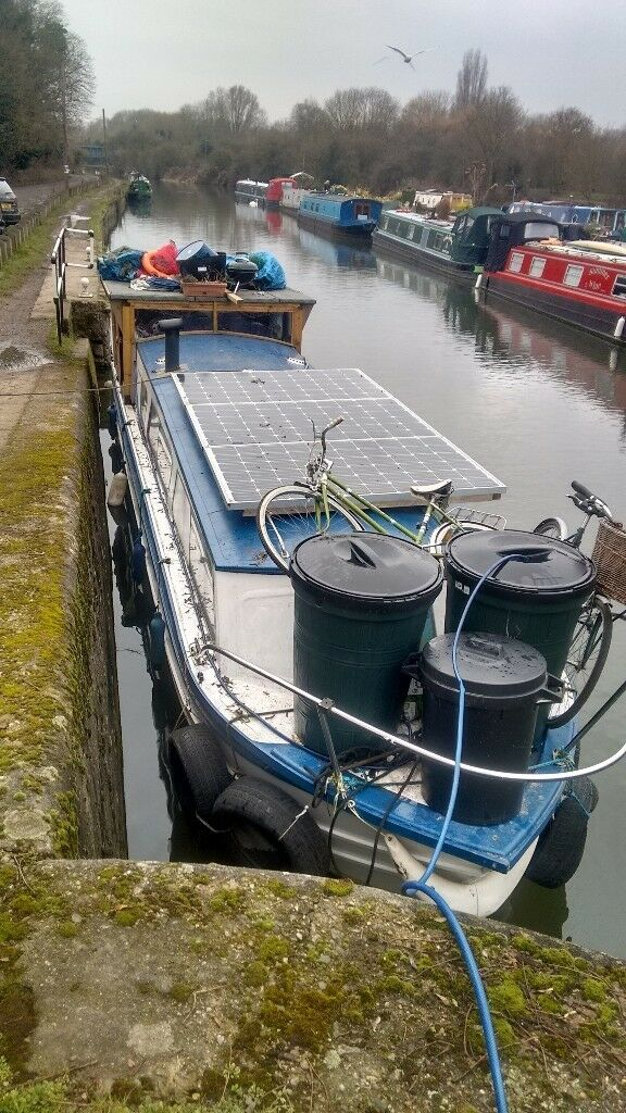 Canal boat to rent 700pcm - 12/6 months fixed term