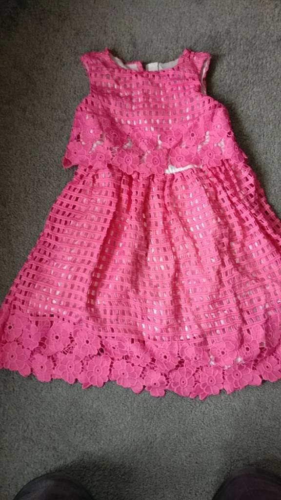 Pink Party Girls Dress