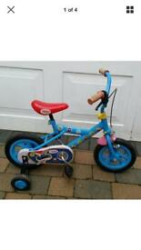 Thomas & Friends 12'' Children's Bicycle with Stabilisers