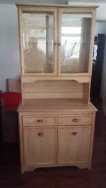 For sale dresser/display cabinet