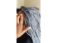 Weaves, Crochet braids,Big plaits/ CORNROWS, Kardashian braids, hair,caucausian,Wigs services