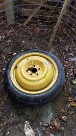 Subaru space saver spare wheel new