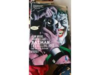 Batman The Killing Joke Hardcover comic book