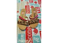 Girls sandals x2