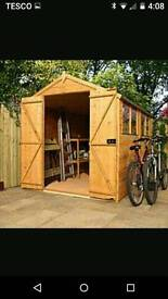 Shed and summerhouse