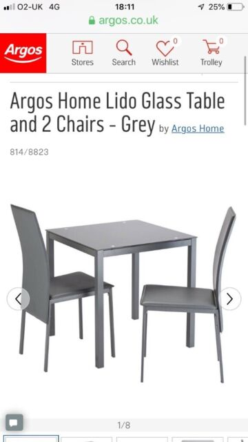 3a817018f318 Small grey dining table and two chairs | in Biddenden, Kent | Gumtree