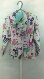 Brand new hooded spring jacket for girl ( 3 years old)