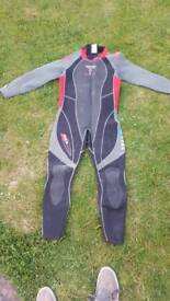 Aqua lung bali 3mm sports wetsuit size men medium large