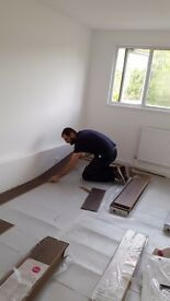 Laminte flooring , carpenter, asamblig and decorating