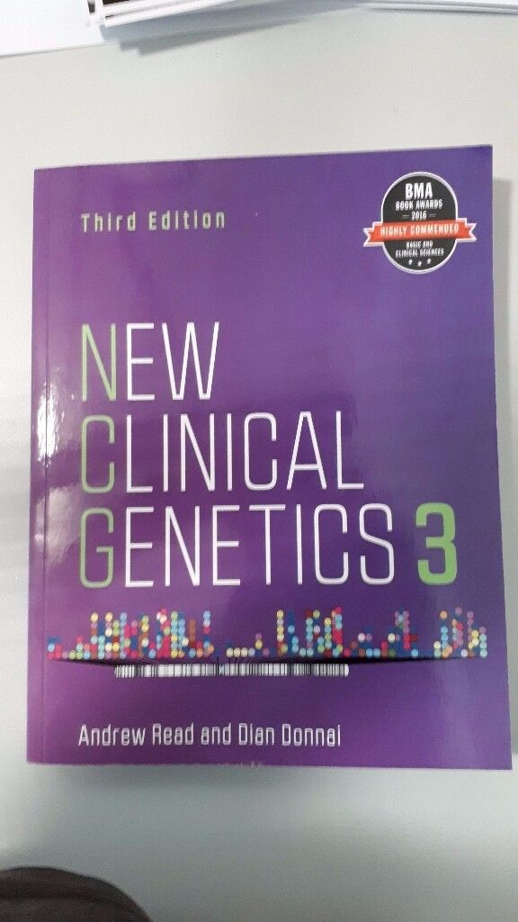 New Clinical Genetics. 3rd Edition. Author Andrew Read and Dian Donnai. Scion Publishing Ltd.
