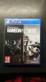 Tom Clancy's Rainbow Six Siege for the PS4